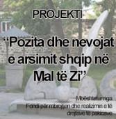 """Prezantimin e projektit """" Pozita dhe nevojat e arsimit shqip në Mal të Zi"""""""