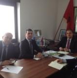 Kryetari i KKSH priti sot ne takim perfaqesuesit e Ambasades se Republikes se Kosoves ne Malin e Zi