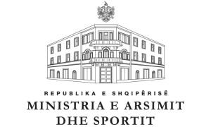 ministria e arsimit dhe sportit AL logo