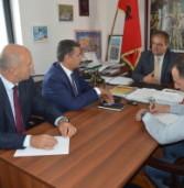 Ambasadori i Kosovës z. Durmishi i bëri vizitë KKSH-së
