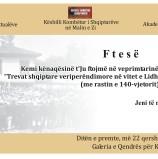 Veprimtari shkencore kushtuar Lidhjes Shqiptare të Prizrenit