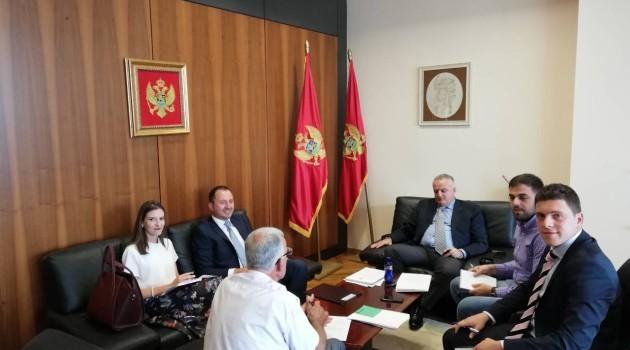 Kryetari i Këshillit Kombëtar Faik Nika zhvilloi takim pune me ministrin Zenka