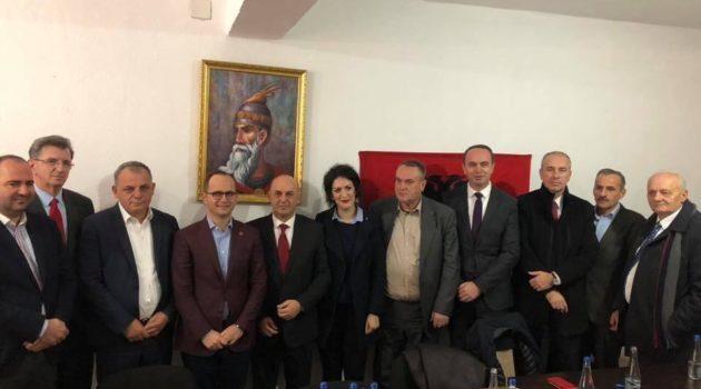 Takimi në Plavë me Ministrin e Punëve të Jashtme të Republikës së Shqipërisë z. Bushatin